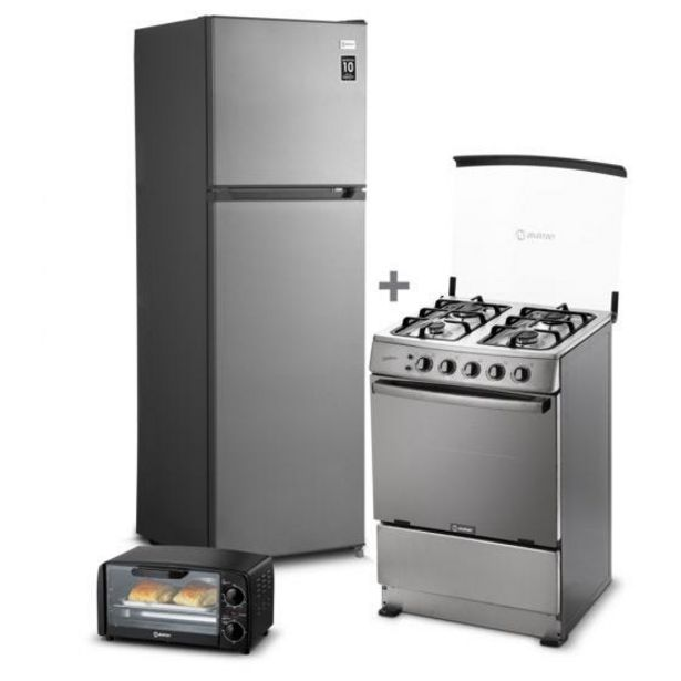 Oferta de Refrigeradora Miray RM-251HI No Frost 251L + Cocina a GLP Miray Gardenia 4 Hornillas + Horno Eléctrico Miray HEM-64 por S/ 2199
