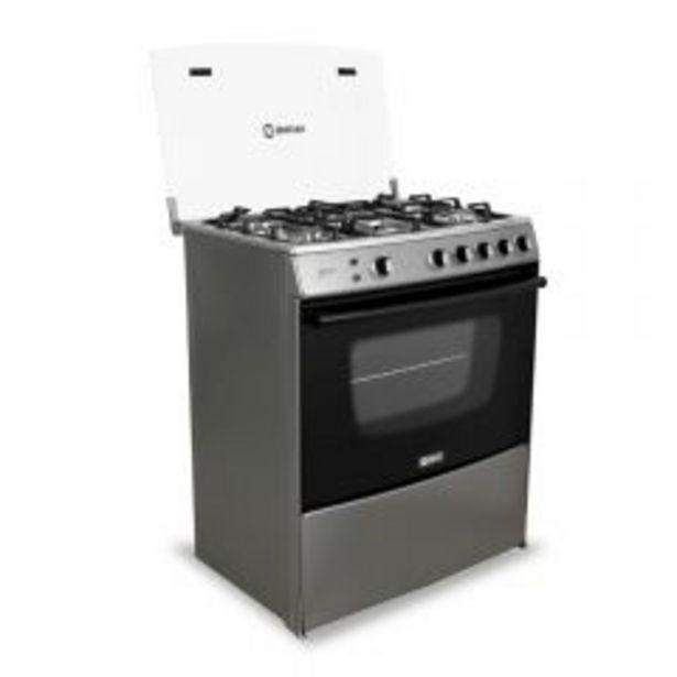 Oferta de Cocina a gas Miray Menta 5 hornillas por S/ 899