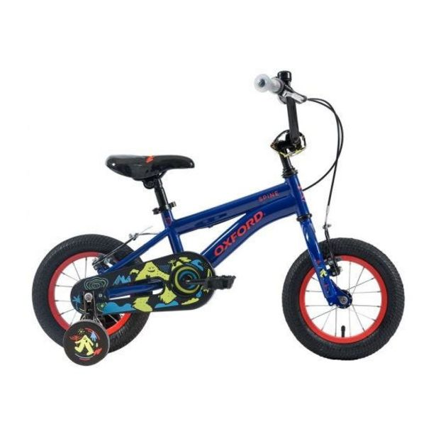 """Oferta de Bicicleta Infantil Oxford Spine Aro 12"""" 1V  Azul por S/ 499"""
