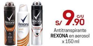 Oferta de Desodorante Rexona por S/ 9,9