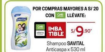Oferta de Shampoo Savital por S/ 9,9