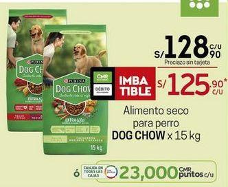 Oferta de Comida para perros Dog Chow por S/ 128,9