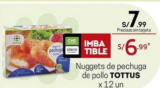 Oferta de Nuggets de pollo Tottus por S/ 7,99