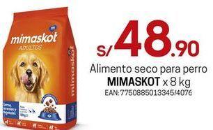 Oferta de Comida para perros Mimaskot por S/ 48,9