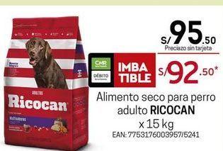 Oferta de Comida para perros Ricocan por S/ 95,5