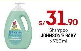 Oferta de Shampoo Johnson's por S/ 31,9