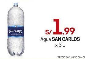 Oferta de Agua San Carlos por S/ 1,99