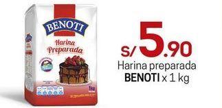 Oferta de Harina Benoti por S/ 5,9