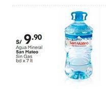 Oferta de Agua San Mateo por S/ 9,9