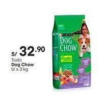 Oferta de Comida para perros Dog Chow por S/ 32,9