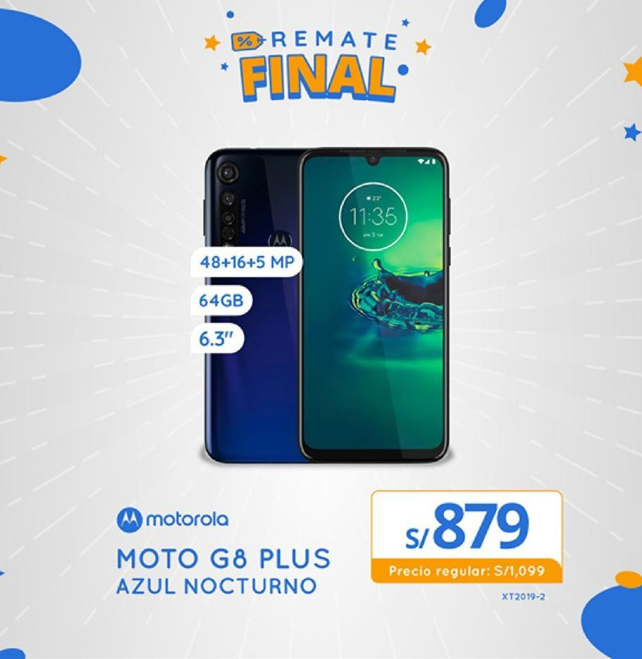 Oferta de Celulares Motorola por S/ 879
