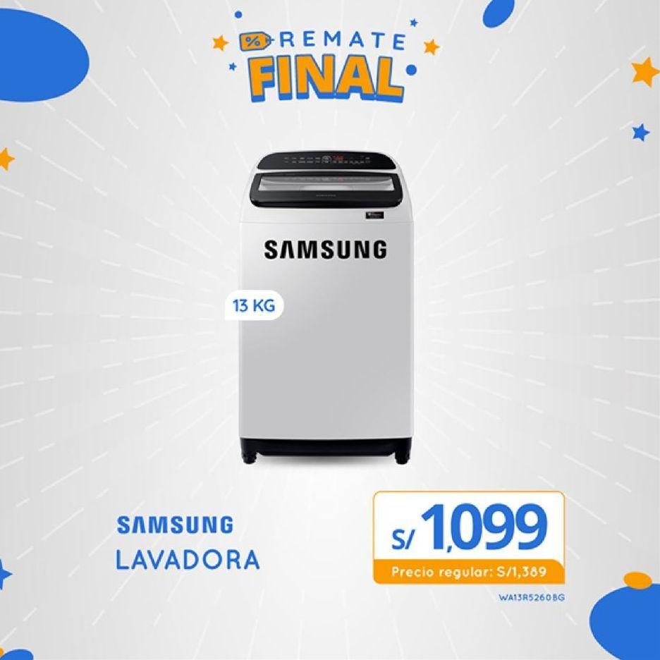 Oferta de Lavadoras Samsung por S/ 1099