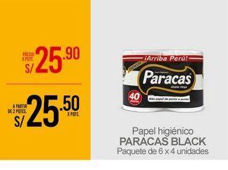 Oferta de Papel higiénico Paracas por S/ 25,9