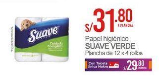 Oferta de Papel higiénico Suave por S/ 31,8