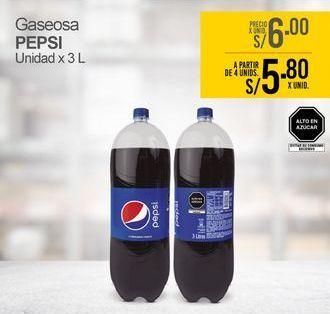 Oferta de Gaseosa Pepsi por S/ 6