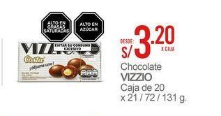 Oferta de Chocolate Vizzio por S/ 3,2