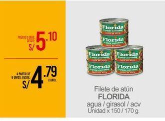 Oferta de Filetes de atún Florida por S/ 5,1