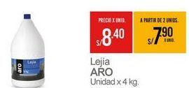 Oferta de Lejía Aro por S/ 8,4