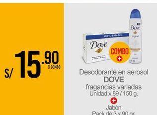 Oferta de Desodorante Dove por S/ 15,9