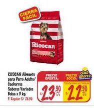 Oferta de Comida para perros Ricocan por S/ 23,9