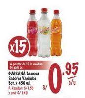 Oferta de Gaseosa Guarana por S/ 0,95