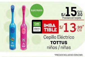 Oferta de Cepillo eléctrico Tottus por S/ 15