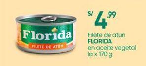 Oferta de Filetes de atún Florida por S/ 4,99