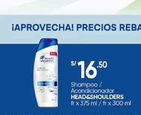 Oferta de Productos para el cabello Head & Shoulders por S/ 16,5