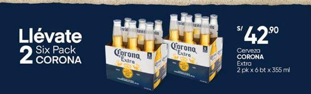 Oferta de Cerveza Corona por S/ 42,9