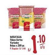 Oferta de Fideos Molitalia por S/ 1,1