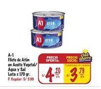 Oferta de Filetes de atún A1 por S/ 4,2