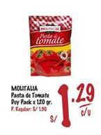 Oferta de Salsa de tomate Molitalia por S/ 1,29