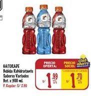 Oferta de Bebidas Gatorade por S/ 1,99