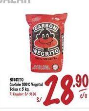 Oferta de Carbón Negrita por S/ 28,9