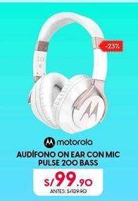 Oferta de Audífonos Motorola por S/ 99,9