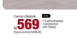 Oferta de Camas Lifestyle por S/ 569