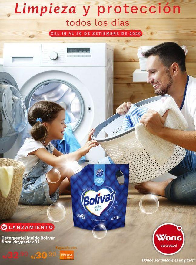 Oferta de Detergente Bolívar por S/ 32,9