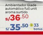Oferta de Ambientadores Glade por S/ 36,5