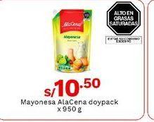 Oferta de Mayonesa Ala Cena por S/ 10,5