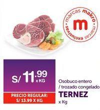 Oferta de Osobuco entero / trozado congelado Ternez por S/ 11,99