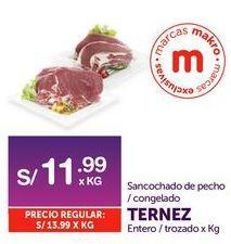 Oferta de Sancocho de pecho/ congelado Ternez por S/ 11,99