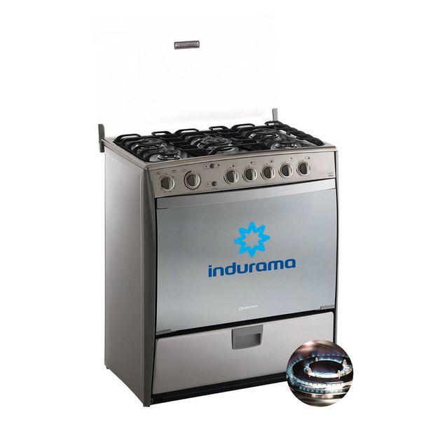 Oferta de Cocina a gas Indurama, modelo Varese. 5 hornillas. por S/ 1399