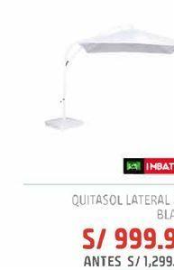 Oferta de Quitasol lateral 2.7m blanco por S/ 999,9