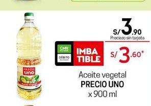 Oferta de Aceite Precio Uno por S/ 3,9