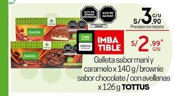 Oferta de Galletas Tottus por S/ 3,9