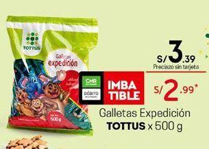 Oferta de Galletas Tottus por S/ 3,39