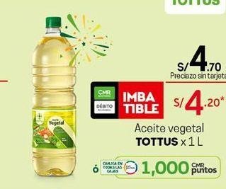 Oferta de Aceite Tottus por S/ 4,7