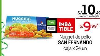 Oferta de Nuggets de pollo San Fernando por S/ 10,49