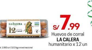 Oferta de Huevos La Calera por S/ 7,99