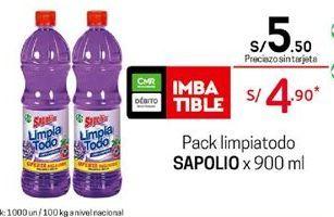 Oferta de Limpiadores Sapolio por S/ 5,5